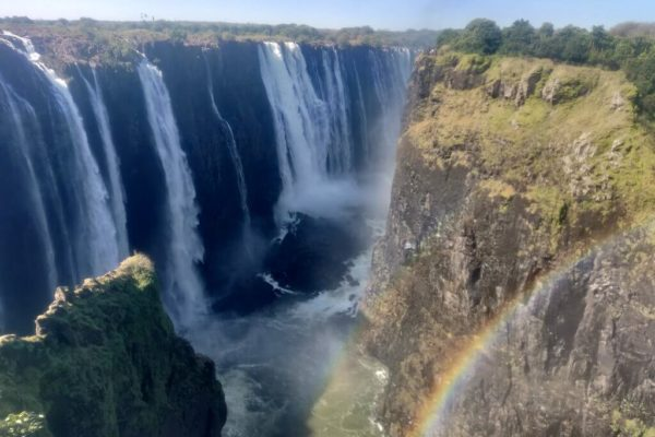 Fly into Vic Falls